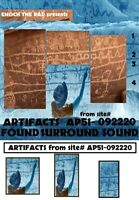 Enoch the Rad Presents - ARTIFACTS FOUND SURROUND vol 2- QUADRAPHONIC Reel Tape