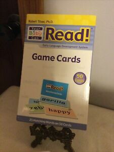 Robert Titzer Your Baby Can Read Game Cards (Memory)