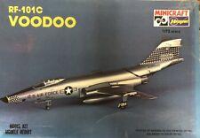 Hasegawa Minicraft 1:72 RF-101C Voodoo Plastic Aircraft Model Kit #1037