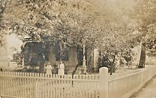 Two Sisters Pose In The Front Yard, Elmira NY RPPC 1908