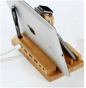 Charging Dock Stand Station Charger Holder for Apple Watch iPhone 11 X 8 7 iPad