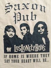2008 Saxon Pub Austin Texas Los Lonely Boys Men's Concert Tour T-Shirt 2XL XXL