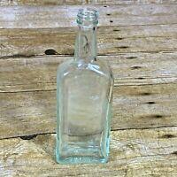 Vintage Charles H. Fletcher's Castoria Oil Empty Glass Bottle