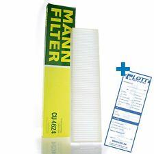 MANN-FILTER Innenraumfilter Pollenfilter Filter Innenraumluft CU 4624