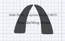 Porsche Boxster / Cayman 987/c CLEAR Stone chip guard Protection Foils Decals