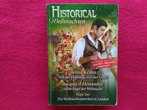 HISTORICAL WEIHNACHTEN--3 festlich romantische WEIHNACHTS-ROMANE im BUCH--s.BILD