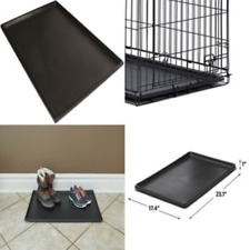 Pan 24 Inch (LS) Pet Dog Crate Replacement Plastic Liner Repl Tray Floor Cage