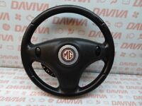 MG ZT ROVER 75 2001-2005 MULTIFUNCTION 3 SPOKES STEERING WHEEL WITH AIR SRS BAG