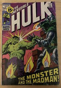 Incredible Hulk #144 (10/71, Marvel) Dr. Doom Cover/Appearance!