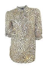 Zara Cotton Blouses Collarless Tops & Shirts for Women
