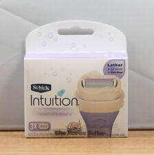 Schick intuition Pure Nourishment Dry skin Women Razor Refill Cartridges 3-Count