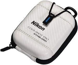 Nikon Golf Hard Case for COOLSHOT PRO STABILIZED Laser CS-CSPRO1 White