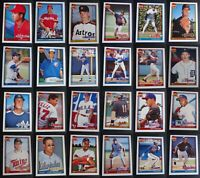 1991 Topps Traded Baseball Cards Complete Your Set Pick From List 1T-132T