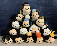 More details for disney tsum tsum plush, mickey mouse 90th anniversary japan exclusive bundle nwt