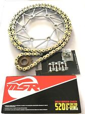 MSR/IRONMAN SPROCKETS, MSR/RK GOLD XW RING CHAIN & BOLT KIT GASGAS ENDURO MODELS