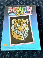 Sequin Art Tiger Create a Sparkling Picture New Sealed