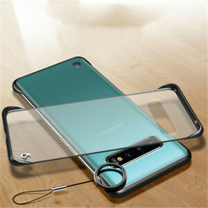 Frameless Bumper Clear Back Case Cover For Samsung Galaxy S7 EDGE S8 S9 S10 PLUS