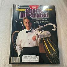 December 25, 1989 Greg LeMond Cycling SOY Sports Illustrated  BAGGED