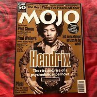 MOJO Magazine UK # 50 Jimi HENDRIX Paul Weller Radiohead REM Paul Simon