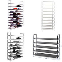 3/5/8/10 Tier Shoe Tower Rack Home Storage Organizer Cabinet Shelf Space Saving