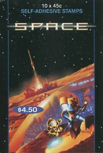 SPACE 2000 - MINT BOOKLET OF SELF-ADHESIVES