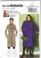 Empire Waist Coat Princess Seam Connie Crawford Sewing Pattern XXL-6X 18W-44W