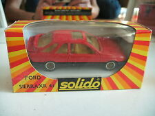 Solido Ford Sierra XR4i in Red on 1:43  in Box