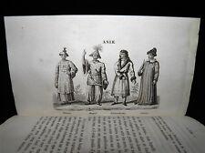 BLANCHARD Voyages de la Pérouse autour du Monde 2 Gravures Reliu Romantique 1848