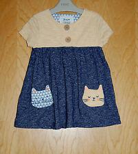 ♡ successiva ♡ BNWT ♡ Bellissimo Vestito ♡ Kitty Abito Tunica ♡ 2-3 anni 3 anni Gatti
