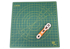 "DAFA 360° Rotating Self Healing Cutting Mat 18"" x 18"" Includes a Rotary Cutter"