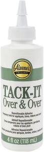 Aleene's Tack-It Over & Over Liquid Glue-4oz, 29-2