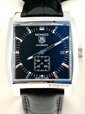 Tag Heuer Monaco Calibre 6 Mens Watch Automatic in Mint Cond. WW2110
