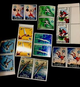 1972 Espana Stamps. Summer Olympics In Munich. Mnh.