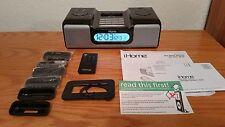 LOOK!! iHOME iH6 DUAL ALARM CLOCK RADIO FOR iPod - EXCELLENT CONDITION!!