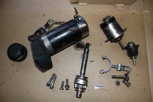Harley starter motor 31570-73 + gears 1987 FXLR FXR FXRT FXRP FXRD FXRC EP22486