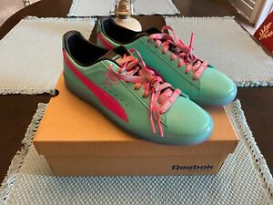 Puma Clyde South Beach Miami Nights SZ10 DS Teal Pink