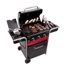 Char-Broil Gas 2 Coal 3-Burner Hybrid Grill BBQ Porcelain Coated  FREE SHIPPING