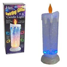 Remolino de LED luz de vela sin llama Brillo Con Cambio De Color Luces De Navidad
