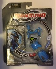 Monsuno #02 Quickforce Action Figure & Poster NIB jakks pacific