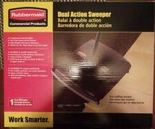 Rubbermaid Fg421388bla Black 44 Dual Action Sweeper