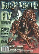Rue Morgue Magazine The Fly Horror Movie Posters William Basso Riki-Oh Kung Fu