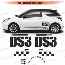 Citroën DS3 - Autocollant Stickers - kit décoration couleur au choix