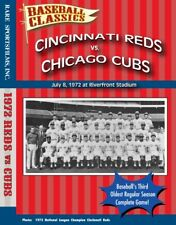 1972 Reds vs Cubs at old Riverfront Stadium- Complete game TV Broadcast on DVD !