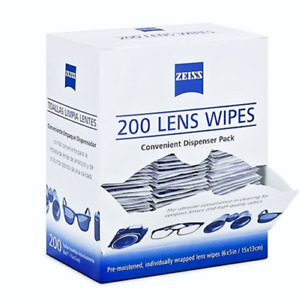 Zeiss Optical Lens Cleaning Glasses Phone Screen Camera 200 Count