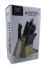 SALT Forged Triple Rivet 18-Piece Cutlery Set