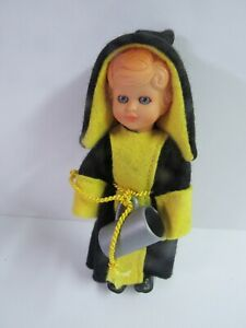 """Vintage Munchner Kindl 6"""" Doll With Stein From Germany"""