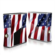 Xbox 360 S Console Skin - Patriotic by Flags - DecalGirl Decal