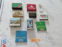 Lote 10 Cajas de Cerillas De Colección No Común Vendimia