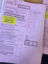 H1 English Leaving Cert Script Photos