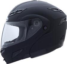 GMAX GM54S Modular Motorcycle Helmet (Flat Black) L (Large)